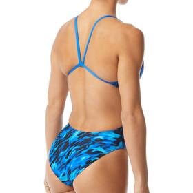 TYR Draco Traje de Baño Recortado Mujer, blue